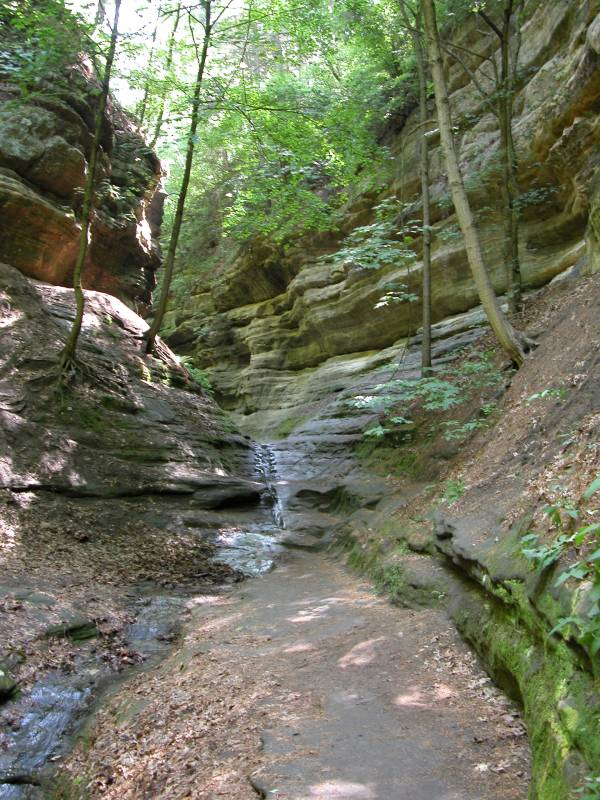 Starved rock state park for The canyons at falling water
