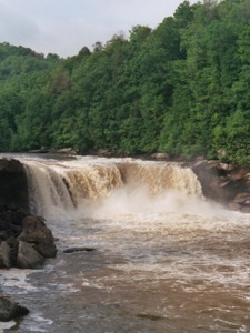Cumberland Falls in Kentucky