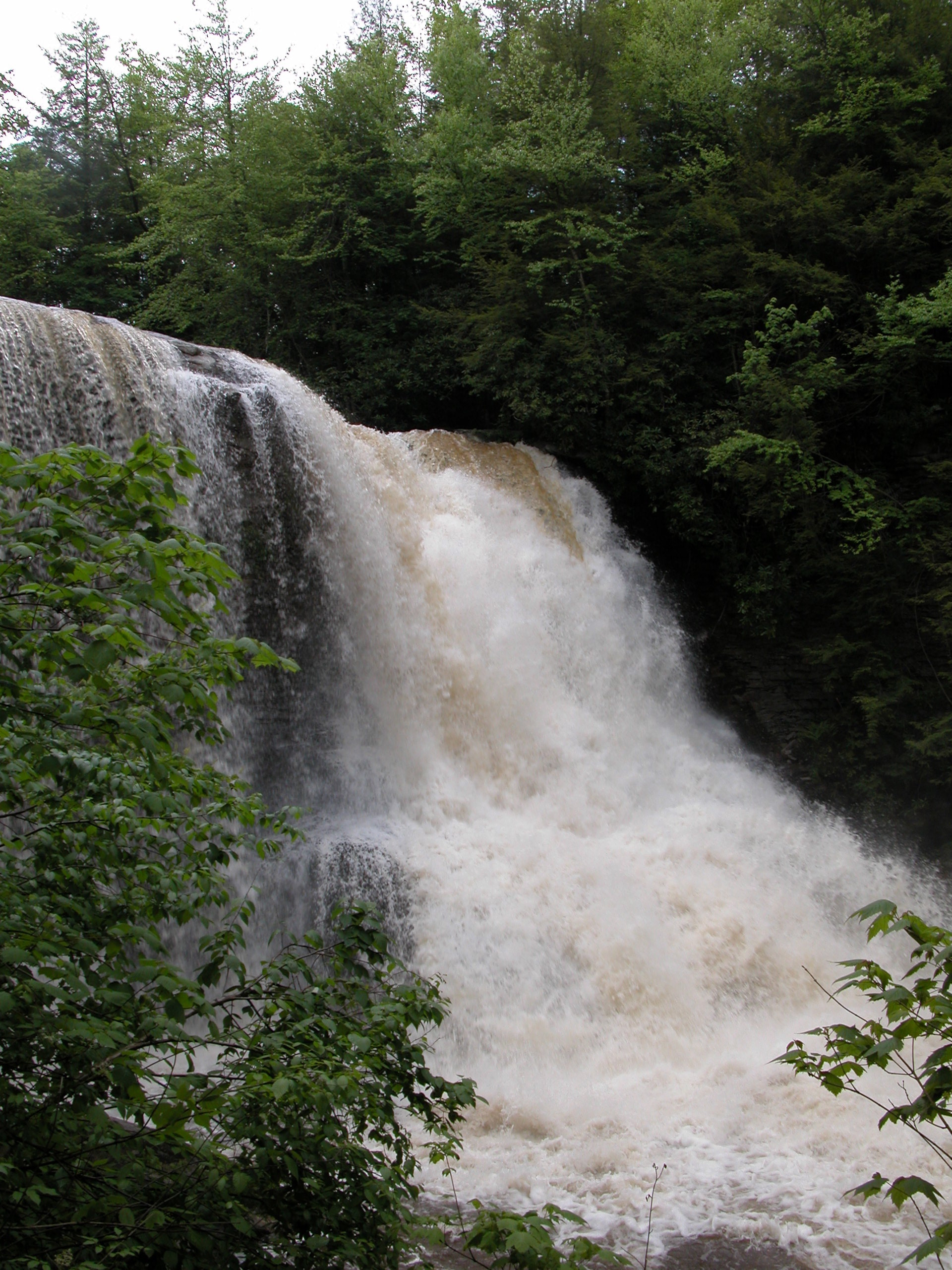 Maryland's Muddy Creek Falls