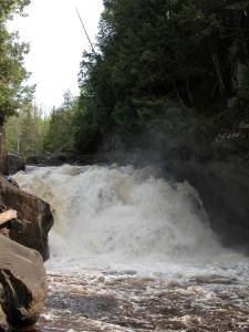 Michigan's Sturgeon Falls