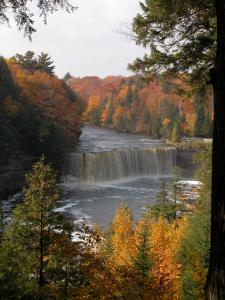 Fall at Tahquamenon Falls