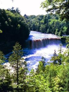 The Upper Tahquamenon Falls in Michigan's U.P.