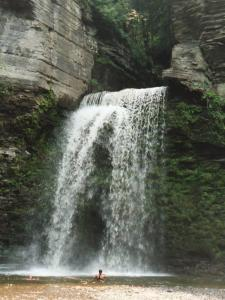 Eagle's Nest Falls, in the Havana Glen in New York