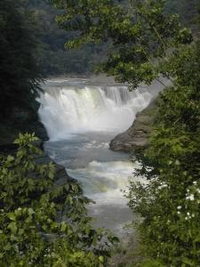 The Lower Falls in Letchworth State Park