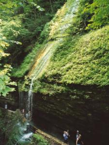 Rainbow Falls in Watkins Glen