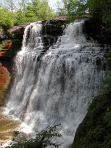 Cuyahoga Valley's Brandywine Falls