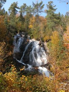 Black Beaver Falls in Agawa Canyon Park