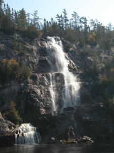 Bridal Veil Falls in Agawa Canyon Park