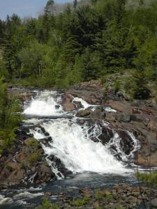 Part of Onaping Falls in Ontario