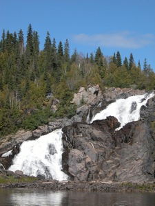 High Falls of the Pic River