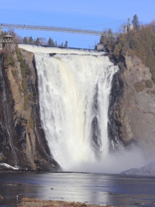 Montmorency Falls near Quebec City