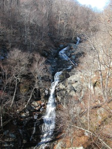 White Oak Falls in Shenandoah National Park