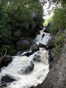 Wisconsin's Long Slide Falls