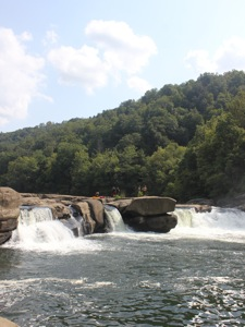Valley Falls in West Virginia