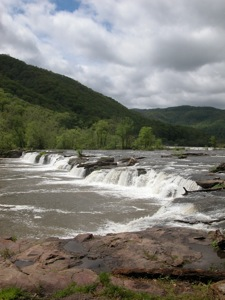 Sandstone Falls on the New River